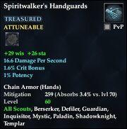 Spiritwalker's Handguards (Treasured)