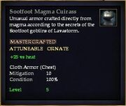 Sootfoot Magma Cuirass