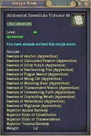 Alchemist Essentials Volume 46