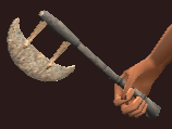 Iron Hand Axe (Equipped)