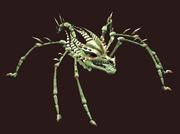 Petamorph Wand Diseased Brittlebone Skitterer (Visible)