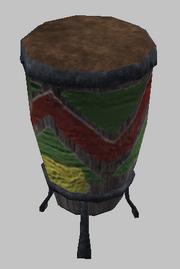 A Kerra Drum (Visible)