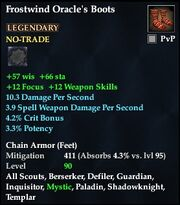 Frostwind Oracle's Boots