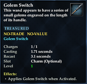 Golem Switch