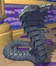 Race metallic cobra