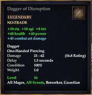 Dagger of Disruption