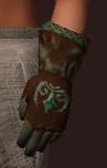Emerald Gardener's Gloves (Equipped)