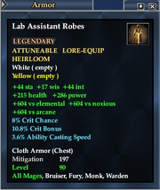 Lab Assistant Robes