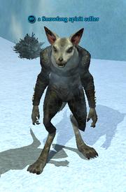 A Snowfang spirit caller