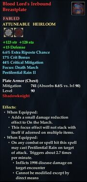 Blood Lord's Irebound Breastplate