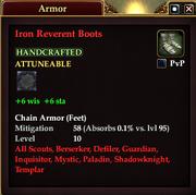 Iron Reverent Boots