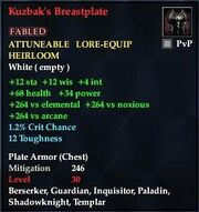 Kuzbak's Breastplate