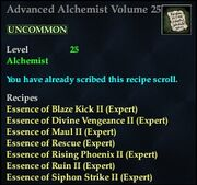 Advanced Alchemist Volume 25