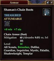 Shaman's Chain Boots