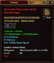 Venerable Moccasins of the Stormbringer