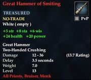 Great Hammer of Smiting