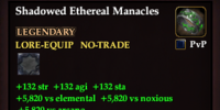 Shadowed Ethereal Manacles