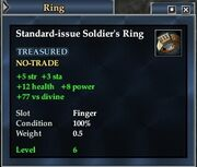 Standard-issue Soldier's Ring