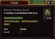 Brown Woolen Scarf