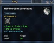 Hammerborn Silver Band