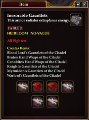 Inexorable Gauntlets
