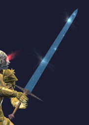 Claymore of Runic Ice (Equipped)