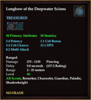 Longbow of the Deepwater Scions