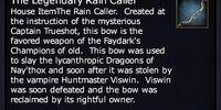 The Legendary Rain Caller Bow
