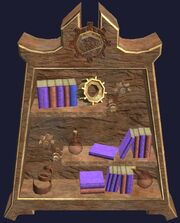 Tinkerer's Bookcase (Visible)