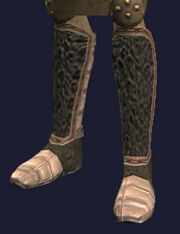 Reinforced Dwarven Work Boots Equipped