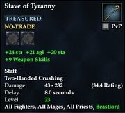 Stave of Tyranny