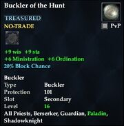 Buckler of the Hunt