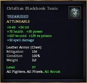 Ortallian Blackhook Tunic