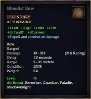 Bloodlet Bow