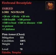 Firebrand Breastplate