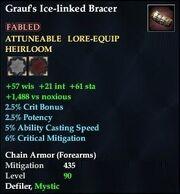 Grauf's Ice-linked Bracer