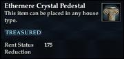 Ethernere Crystal Pedestal