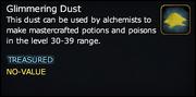 Glimmering Dust