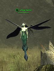A bog faerie