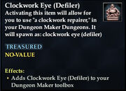 Clockwork Eye (Defiler)