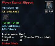 Woven Eternal Slippers