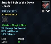 Studded Belt of the Dawn Chaser