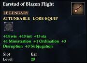 Earstud of Blazen Flight