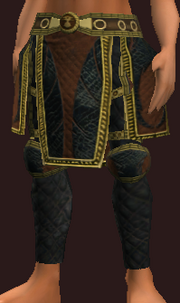 Pugilist's Leather Legs of the Plague (Equipped)