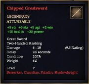 Chipped Greatsword