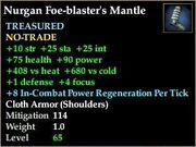 Nurgan Foe-blaster's Mantle