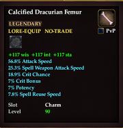 Calcified Dracurian Femur