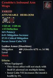 Cenobite's Irebound Arm Wraps