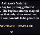 Wantia Artisan's Satchel