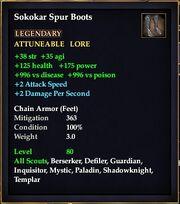 Sokokar Spur Boots